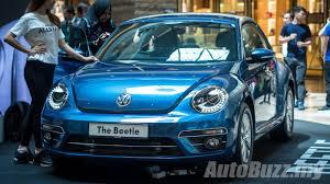volkswagen beetle 2017 blue updated volkswagen beetle now in malaysia two variants 1 2l
