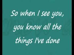 third eye blind blinded when i see you lyrics