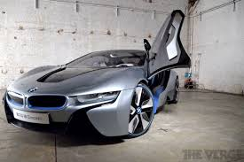 hybrid supercars bmw i8 hands on the hybrid supercar at rest the verge