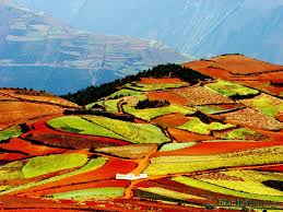 Amazing Places To Visit by Dongchuan Red Land Amazing Places To Visit In Yunnan China