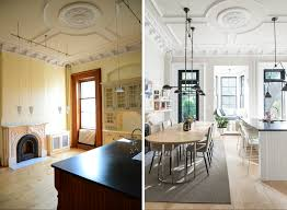 S Brooklyn Brownstone Gets Dreamy Kitchen Makeover Curbed - Brownstone interior design ideas