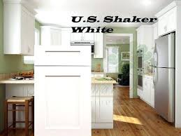 assembled kitchen cabinets kitchen cabinets rta all wood us shaker white or fully assembled