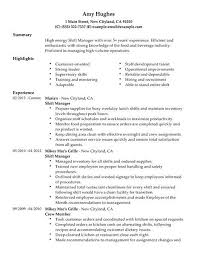 labor relations specialist resume the best template format