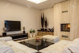 travertine house creative solutions for your home interior stock