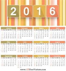 free downloadable calendar template free printable 2016 calendar template vector clip