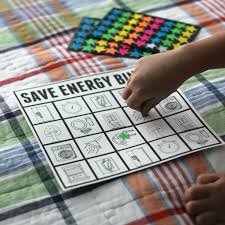 toddler approved easy bingo game to teach kids to conserve energy water taking baths or showers as we ve challenged ourselves to be a little smarter this month it is fun to see my kids take ownership of being energy