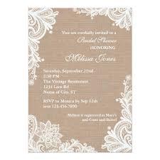 vintage wedding shower invitations plumegiant