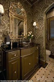 glam bathroom ideas large damask wall stencils for painting best ideas on classic