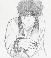 anime sketch by fatz8101995 on deviantart
