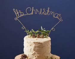 Christmas Cake Decorations Ireland christmas decorations etsy