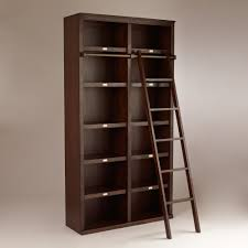 Rolling Bookcases Large Bookcase With Ladder Rolling Dfcafabb Tikspor