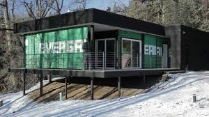 shipping container cabin youtube