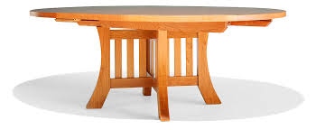 Arts And Crafts Dining Room Set Round Dining Table By Berkeley Mills