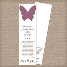 memorial bookmarks butterfly memorial bookmarks memorial bookmarks catalog