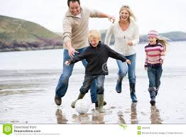 family football on stock photo image of chasing