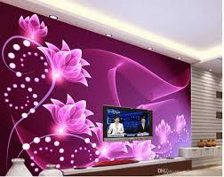 Wallpapers Home Decor 3d Stereoscopic Wallpaper Fashion Decor Home Decoration For