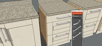 Drawing Kitchen Cabinets In Sketchup Nrtradiantcom - Draw kitchen cabinets
