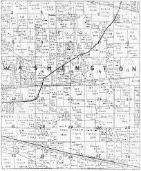 Washington County Map Porter County Indiana Genweb Washington Township Maps