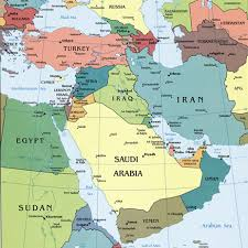 middle east map water bodies map of the middle east explore the world with travel nici