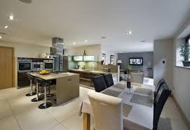 beautiful open concept kitchen and living room agreeable plan