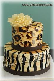 114 best animal print cakes images on pinterest leopard cake
