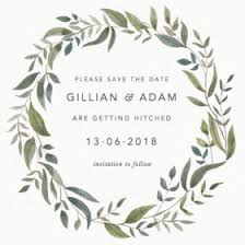online save the dates customisable wedding save the dates order online sles 1