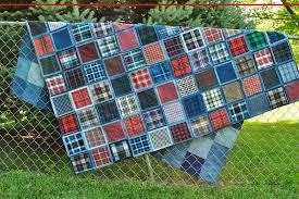make a gorgeous denim quilt from blue