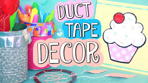 Diy Duct Tape Room Decor Ruffle Pencil Holder Painting