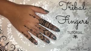 tribal fingers henna by sana g