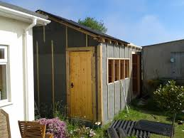 How To Re Roof A Shed With Onduline Corrugated Roofing Sheets by Shed Construction U2013 Goatboy U0027s Woodshop