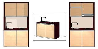 micro cuisine les micro cuisines rubis rs2 prêtes à poser