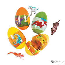 dinosaur easter eggs filled dinosaur plastic easter eggs 12 pc
