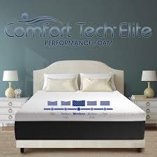 Memory Foam Mattress Costco Comfort Tech Elite Aurora 30 5 Cm 12 In King Foam Mattress