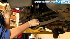 how to install replace front cv axle half shaft honda odyssey 99