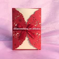 Red Wedding Invitation Cards Alibaba Manufacturer Directory Suppliers Manufacturers