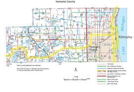 kenosha map index of county maps