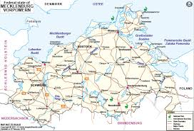 map of germany with states and capitals mecklenburg vorpommern map map of mecklenburg vorpommern germany