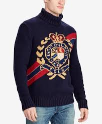 macy s ralph sweaters polo ralph s intarsia knit wool sweater created for