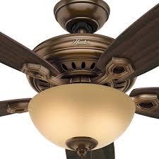 hunter fan company 99375 hunter 60 valerian bronze patina ceiling fan with light walmart com
