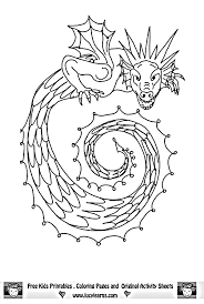 free printable dragon coloring pages decorating ideas