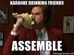 Funny Karaoke Meme - it s friday gotta sing out the work week karaoke nemo nyc