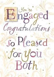 congratulations engagement card engagement card you re engaged design size 4 75 x 6 75 ie217w