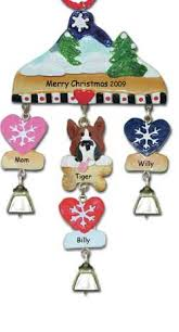 boxer personalized ornament