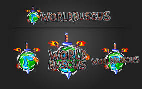 captainsparklez logo finsgraphics worldbuscus logo design