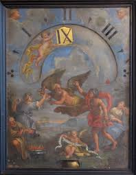 Clock Made Of Clocks by Night Clock Made In Rome Italy In 1682 By The Famous Vatican