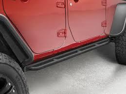 mopar side steps for jeep wrangler unlimited side guards steps mopar mp 82210574 mopar rock rails with