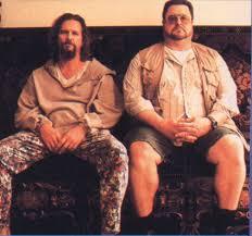 The Dudes Rug Jeff Bridges As The U0027dude U0027 And John Goodman In The Big Lebowski