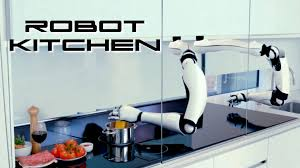 robot kitchen behold the future youtube