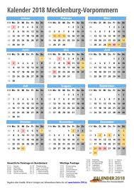 Kalender 2018 Mv Kalender 2018 Mecklenburg Vorpommern Zum Ausdrucken Kalender 2018
