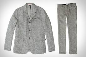 Apolis civilian travel suit uncrate